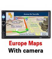 7010G 2DIN 7-дюймовый GPS карты Европы + 8GB подарок