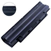 Battery Dell Inspiron N5110 N5010 N7010 N7110 M5010 M5030 N3010 N4010 N4050 N4110 N4120 Vostro 1440 1450 1540 1550 2420 2520 3450 3550 3555 3750 J1KND 4YRJH 9JR2H 6P6PN 7XFJJ 383CW WT2P4 11.1V 5200mAh Black