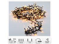 Luminite de sarbatoare ramura 560LED, 11m, 8regime, alb-cald