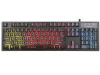 Клавиатура MARVO K616A Wired Gaming Rainbow LED