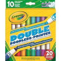 Crayola 58-8311C Двусторонние маркеры (10 шт.)