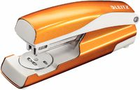 Leitz Степлер LEITZ 5502 24/6, 30 листов, оранжевый