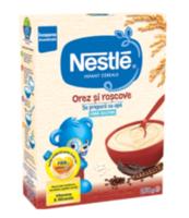 Nestle каша рисовая безмолочная с плодами рожкового дерева, 250г