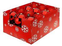 купить Шар елочный 150mm красный/оранж/фиолет в Кишинёве