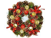 """купить Подсвечник рождественский """"Nature"""" на 4 свечи, 27сm в Кишинёве"""