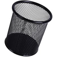 MEMORIS PRECIOUS Стакан для ручек JSHEN D9х10см сетка черный