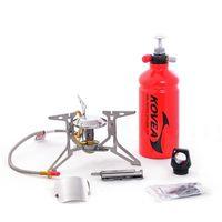 Горелка бензин. Kovea Booster Clam 2.10 kW, 376 (298+78) g, silver, KB-0810