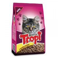 Tropi  корм сухой  для кошек ,птица  15кг