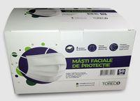 Одноразовая защитная маска для лица, 50шт, TORECO