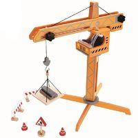 Hape Деревянная игрушка Большой кран