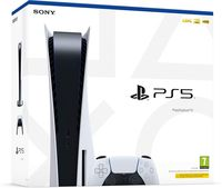 Sony PlayStation 5 1TB White, 1 x Gamepad (Dualsense)