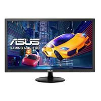 """21.5"""" ASUS """"VP228HE"""", Black (1920x1080, 1ms, 250cd, LED100M:1, D-Sub+HDMI, Speakers) (21.5"""" TN W-LED, 1920x1080 Full-HD, 0.248mm, 1ms GtG, 250 cd/m², DCR 100 Mln:1 (1000:1), 16.7M Colorss, 90°/65° @C/R>10, D-Sub + HDMI, Stereo Audio-In, Built-in speakers, Built-in PSU, Fixed Stand (Tilt -5/+20°), VESA Mount 100x100, GamePlus Mode, Flicker-Free & Low Blue Light technologies, Black)"""