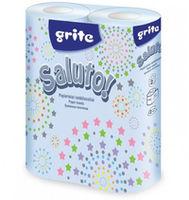 GRITE - Полотенце кухонное Saluto 2 слоя 2 рулона 10.4м