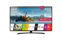 """43"""" LED TV LG 43UJ635V, Black (3840x2160 UHD, SMART TV, PMI 1600Hz, DVB-T2/C/S2) (43"""" IPS, Black, 3840x2160 UHD, PMI 1600Hz, SMART TV (WebOS 3.5), Active HDR, 3 HDMI, 2 USB (foto, audio, video), Wi-Fi,, DVB-T2/C/S2, OSD Language: ENG, RU, RO, Speakers 2x10W Ultra Surround,, 9.6 Kg, VESA 200x200)"""