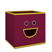 купить Текстильная коробка 280х280х280 мм, фиолетовый в Кишинёве
