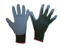 Rwnyl черные перчатки с латексным нейлоновым покрытием