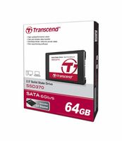 "2.5"" SATA SSD   64GB Transcend"