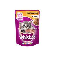 Whiskas pentru pisici de vita