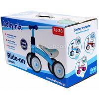 Baby Mix UR-ET-Z7 BLUE Беговел четырёхколёсный