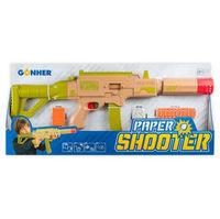 Blaster cu gloanţe de hîrtie Super Blaster Command, cod 43565