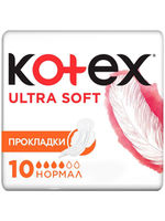 Absorbante zile critice Kotex Ultra Soft Normal, 10 buc.