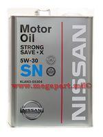 купить Масло моторное Nissan 5W30 Strong Save X SN 4L (5W-30) в Кишинёве