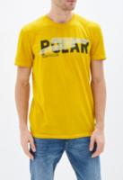 Tricou TOM TAILOR Galben 1015550