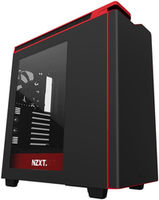 NZXT H440 Matte Black Red CA-H442W-M1)