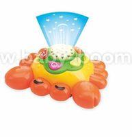 Baby Mix  PL-381457 Игрушка-проектор  Краб (музыкальная)