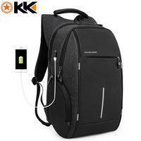 Рюкзак  для ноутбука 15,6 KAKA 2215-D чёрный