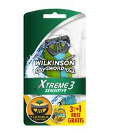 Бритвы для мужчин Xtreme3 Sensitive, 3+1 шт, 3 лезвия