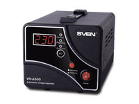 Stabilizer Voltage SVEN  VR- A 500  max.300W, Output sockets: 1 × CEE 7/4
