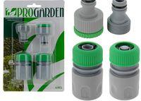купить Набор коннекторов для шланга 4шт, зеленые в Кишинёве