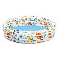 Детский надувной бассейн, 132x132x28
