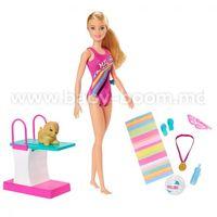 """Barbie GHK23 Игровой набор """"Тренировка в бассейне"""""""