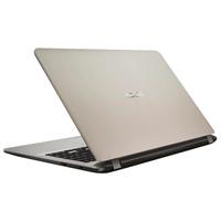 """NB ASUS 15.6"""" X507UB Gold (Core i3-6006U 4Gb 1Tb) 15.6"""" Full HD (1920x1080) Non-glare, Intel Core i3-6006U (2x Core, 2.0GHz, 3Mb), 4Gb (1x 4Gb) PC4-19200, 1Tb 5400rpm, GeForce MX110 2Gb, HDMI, 802.11ac, Bluetooth, 1x USB 3.0, 2x USB 2.0, Card Reader, Webcam, Endless OS, 3-cell 33 WHrs Li-Ion Battery, 1.68kg, Gold"""