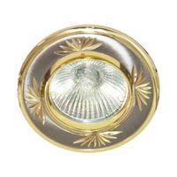 Feron Встраиваемый светильник DL246 MR-16 золото