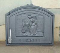 Дверца чугунная глухая правая DCHS2-P