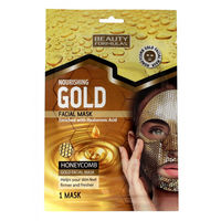 Beauty Formulas Gold Nourishing Facial Mask Honeycomb - Питательная маска для лица