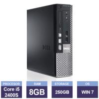 Настольный компьютер Dell OptiPlex 790 USDT(Intel Core i5-2400S | 8 GB RAM | 250 GB HDD | Multi-Drive | Windows 7)