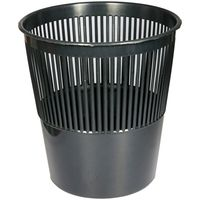 OFFICECLEAN Корзина для мусора OFFICECLEAN пластик 9л черная