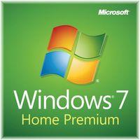 Microsoft Win HomePrem 7, SP1 x32 English