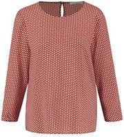 Блуза GERRY WEBER Коричневый с принтом