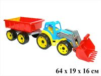 Tehnok-Intelkok  tractor cu coș