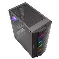 Корпус ATX GAMEMAX Black Diamond, 1x120 мм, вентилятор ARGB LED, светодиодная лента ARGB, Rainbow HUB, TG, USB3.0