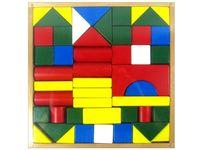 Набор деревянных кубиков, 48шт 23X23X2.5cm