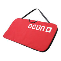 Crash Pad Ocun Paddy Sitcase, red/black, 03551