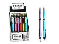 Ручка гелевая PT-165C soft ink,0.7mm, синяя