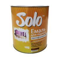 Solo Эмаль ПФ-266 Желто-коричневая 0.9кг