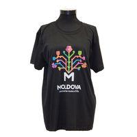 купить Мужская футболка с печатью (черная) - Древо Жизни в Кишинёве